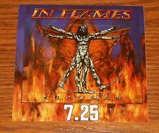 In Flames Clayman Sticker Decal Original Promo 4x4