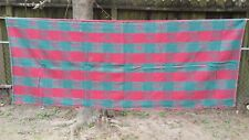 """Red Green Holly Christmas Plaid Rectangle 62""""X48"""" Tablecloth Free Shipping"""