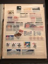 Stamp Collection Stock Book Loaded With Stamps