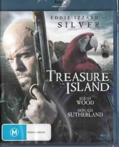 TREASURE ISLAND - BLU-RAY - ELIJAH WOOD - NEW REGION  B BLU-RAY FREE LOCAL POST