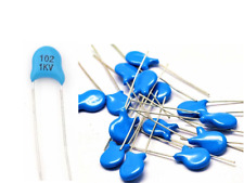 50Pcs  Disc Ceramic Capacitors 1000pF 1nF 0.001uF 102 1kv  102 1000v