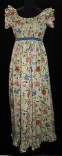Womens Vtg Maxi Dress Murray Hamburger Sz 8 10 Hippie Long Vintage Floral
