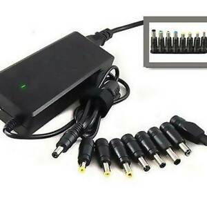 Universal 8 in 1 D/AC Power Charger Charging Adapter Tips for Laptop PC Notebook