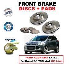 Discos de freno delanteros + para Ford Kuga Dm2 1.5 1.6 EcoBoost 2.0 TDCi 4x4