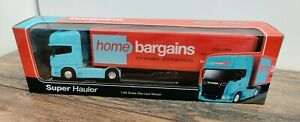 WELLY Home Bargains Scania Diecast Model Truck Lorry 1:64 Super Hauler