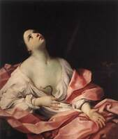 Oil painting Salome Guido Reni - Cleopatra's seduction of Caesar canvas