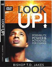 Look Up Possibility Power & for Change - 2 DVDs - T.D. Jakes - Sale !  Rare !