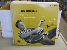 Guy Mitchell Songs of The Open vinyl 10 Inch Columbia VG+ guitar cover