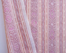 Ikat Cotton Red Artisan Fabric Hand-Dyed & Hand-Woven Orissa Odisha India