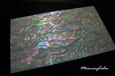 2 Sheets of Prism Abalone Wide Veneer (MOP Shell Inlay Overlay Nacre Luthier)