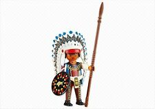 Playmobil Western Oeste Jefe Indio con Accesorios, Ref 6271 NUEVO, Indios