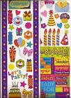 CELEBRATE Birthday PARTY Fun CELEBRATION Stickers Borders Scrapbooking 2 sheets