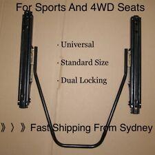 Universal Sliding Seat Adjuster Mount Rail PAIR SEAT RAIL forSPARCO/RECARO/BRIDE