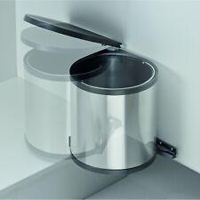 Wesco Der Runde Mülleimer Abfallsammler Küche Einbau Müllsammler 11 13 15 Liter