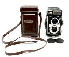Near Mint Yashica-Mat Em Twin Lens Reflex Medium Format Camera With Case #31091
