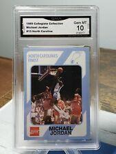 1989 North Carolina Collegiate Collection Michael Jordan #13 GMA 10 B001