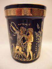Goddess Artemis Aphrodite & Adonis God Apollo Ancient Greek Art Pottery Vase Cup