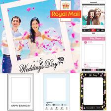 Frame Photo Booth Props Facebook Instagram Wedding Birthday Selfie Party Decor