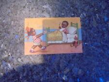beau lot de huit carte postale ancienne enfantine....