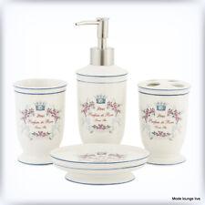 Set da Bagno con Dispenser per Sapone e Accessori da Bagno Clayre /& Eef 63600W
