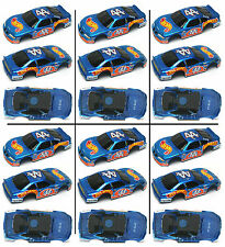 6pc 1998 TYCO Hot Wheels Kyle Petty CocaCola 44 HO Slot Car Wide BODY ONLY 33569