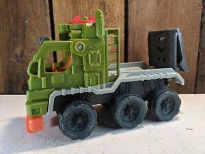 Imaginext Jurassic World Dinosaur Hauler Truck Fisher Price Cage Carrier 052621
