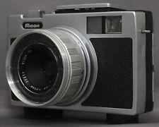 RICOH RICOHMATIC 126 VINTAGE FILM CAMERA RIKENON F2.8 35mm JAPAN Clean Works!