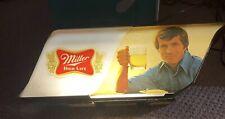 Vintage Miller High Life Lighted Beer Sign Store Display Works