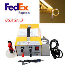 US Plug Pulse Sparkle Spot Welder Jewelry Welding Machine Gold Silver Platinum