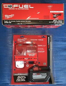 Milwaukee 48-59-1200 M18 REDLITHIUM HD12.0 Battery Pack Charger Grinder 2780-20