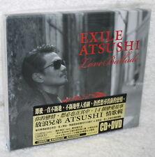 J-POP EXILE ATSUSHI Love Ballade 2014 Taiwan Ltd CD+DVD+40P booklet