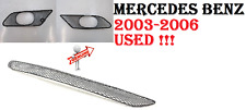 MERCEDES 03-06 CL500 CL55 CL600 CL65 AMG Front Bumper Cover Mesh Grille SET USED