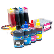 CISS & Refill Bottle Set Compatible for Canon PGI-1200 MAXIFY MB2020 MB2720