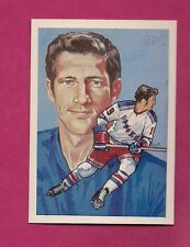 1987 HALL OF FAME NY RANGERS JEAN RATELLE  ELECTED 1985 MINT CARD (INV# A2703)
