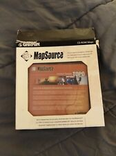 Garmin mapsource United States Topo version 3.0 0 Windows CD ROM 3 Disc set