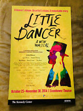 LITTLE DANCER Window Card Susan Stroman Ahrens Flaherty Tiler Peck Boyd Gaines