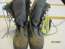 Belleville 600 ST Military USAF Sage Green Hot Weather Safety Toe Boots USA Made