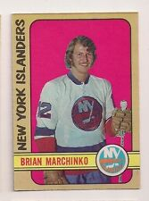 1972-73 OPC #179 BRIAN MARCHINKO ROOKIE NEW YORK ISLANDERS  O-PEE-CHEE