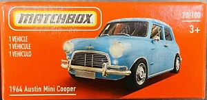 Matchbox 1964 Austin Mini Cooper Blue 2021 New Release