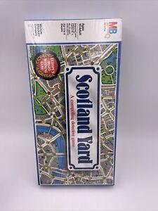 SCOTLAND YARD 1985  Board Game Milton Bradley MB FACTORY SEALED