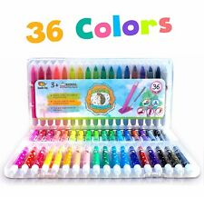 36 EXTRAORDINARY BOLDER CRAYONS 3-1 Pastel And Watercolor Effects Kids/Toddlers
