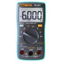 AN8001 Digital Multimeter 6000 Count Backlight AC/DC Ammeter Voltmeter Ohm Meter