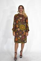 VINTAGE Vestito Vintage Dress Multicolore TG IT 44 - M Donna Woman