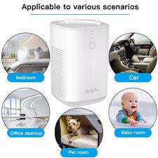 Air Purifier Desktop Filter Air Cleaner 3 In 1 True Hepa For Home Bedroom Office
