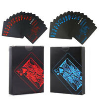 Family Party Waterproof Playing Cards  Decks Card Blue/Red Poker Classic Game