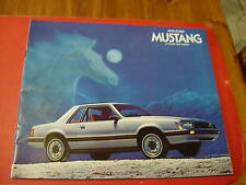 VINTAGE(1979) FORD Mustang American Car brochure - Near MINT Condition
