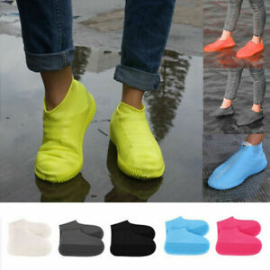 Silicone Overshoes Rain Waterproof Shoe Cover Boot Cover Protector Recyclable UK
