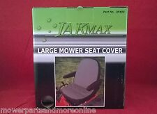 18 Inch HIGH BACK - Padded Ride on Lawn Mower Seat Cover - for most brands