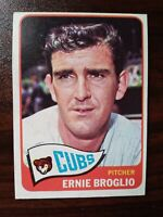 1965 Topps Set Break #565 Ernie Broglio CHICAGO CUBS FREE SHIPPING
