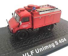 VLF Unimog S404 Camión bomberos fire truck 1/72 ATLAS Diecast